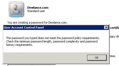 windows-password-policy-error